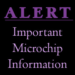IMPORTANT MICROCHIP INFORMATION